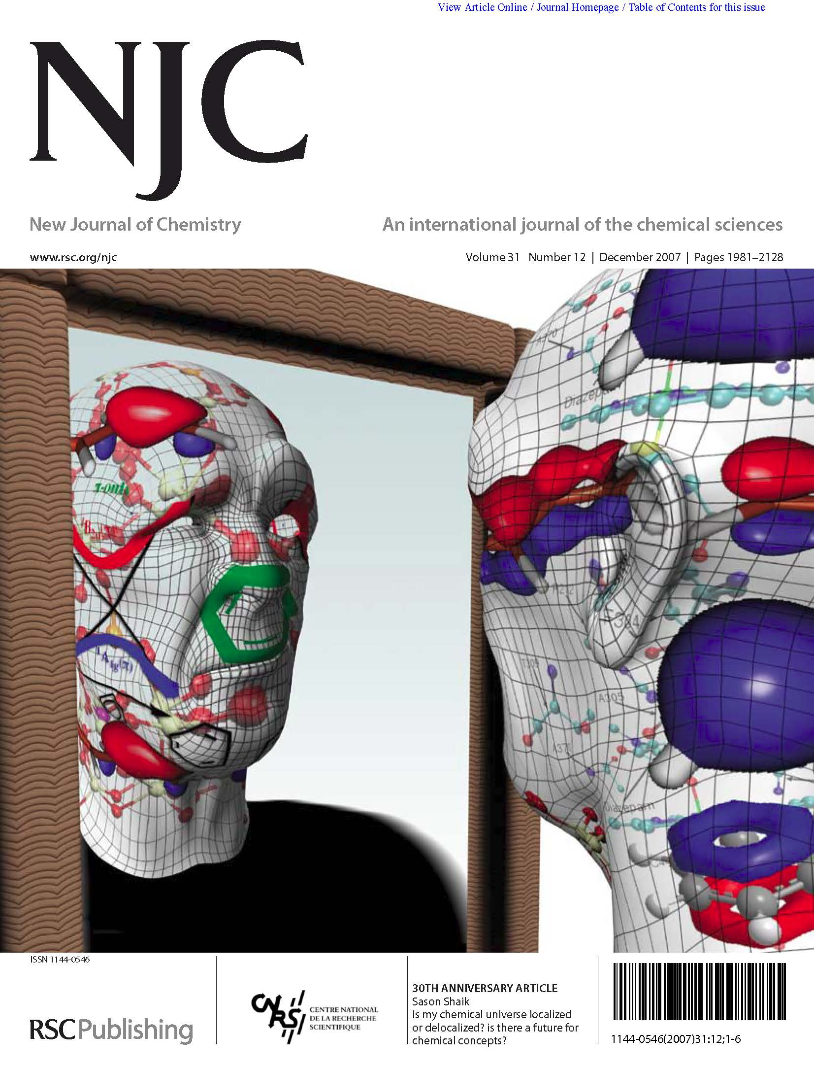 Journal covers | Institute of Chemistry